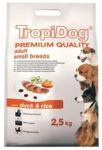Tropidog Premium Adult M&L Duck Rice 2,5kg