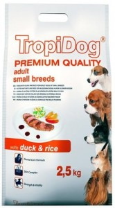 Tropidog Premium Adult Small Duck Rice 2,5kg