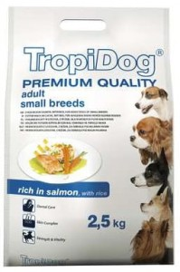 Tropidog Premium Adult Small Rich In Salmon 2,5kg