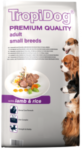 Tropidog Premium Adult Small Lamb Rice 2,5kg