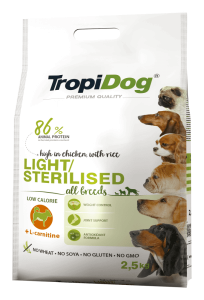 Tropidog Premium Adult Light 12kg