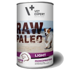 Vet Expert Raw Paleo Lamb Light 400g