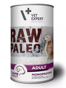 Vet Expert  Raw Paleo Lamb Adult   400g