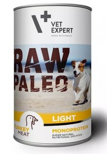 Vet Expert Raw Paelo Turkey Light 400g