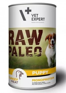 Vet Expert Raw Paelo Turkey Puppy 400g