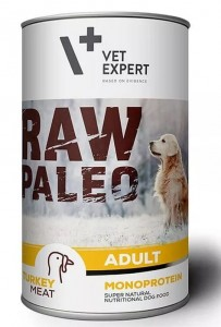 Vet Expert Raw Paelo Turkey Adult 400g
