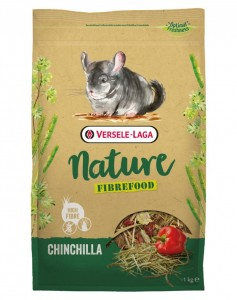Versele Laga Chinchilla Nature Fibrefood 1 kg Pokarm Sensitive dla Szynszyli