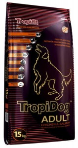 Tropidog Super Premium Adult M&L Chicken Salmon 15kg
